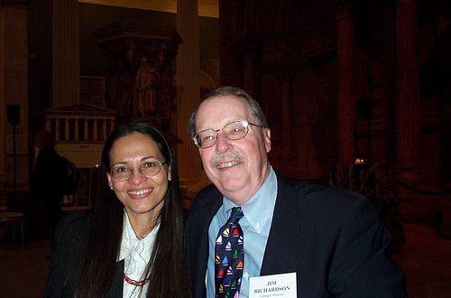 JBR and Mariuxi Cordero