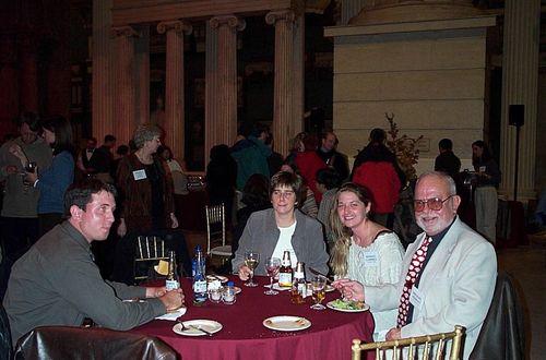 Moseleys table-left Scott Palumbo from Pitt
